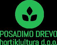 Ureditev brežine, protierozijska zaščita, naravni bazeni Posadimo drevo logo