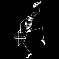 Poučevanje sodobnega plesa, poučevanje baleta, poučevanje plesne tehnike Modern, poučevanje plesnih pripravnic za otroke harlekin ples logo