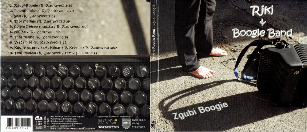 Rihard harmonikar - instrumentalist - avtor album Zgubi Boogie