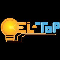 Prodaja led svetil, prodaja vgradnih svetilk, prodaja kopalniških svetilk El Top LOGOTIP 2