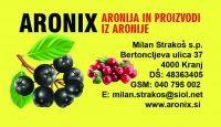 Izdelki iz aronije, sadike aronije, aronija sadež - Aronix 07