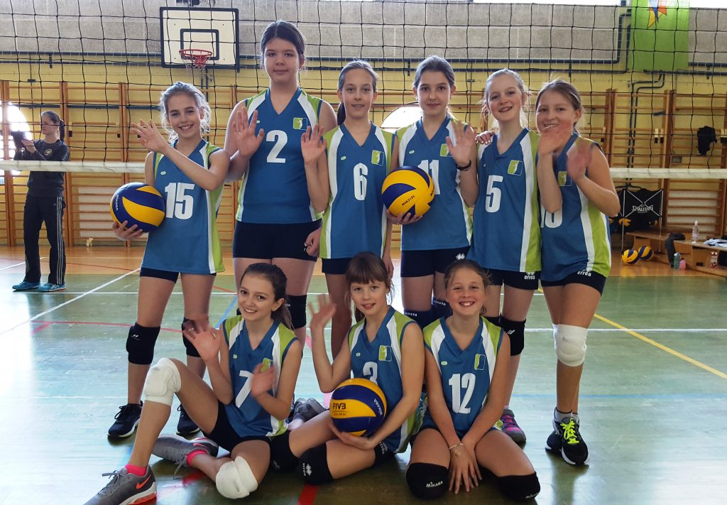 Odbojkarska šola Olimp, odbojka za deklice, Olimp volleyball, Ljubljana 001