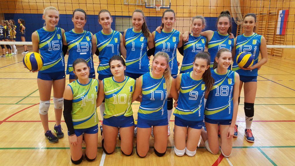 Odbojkarska šola Olimp, odbojka za deklice, Olimp volleyball, Ljubljana