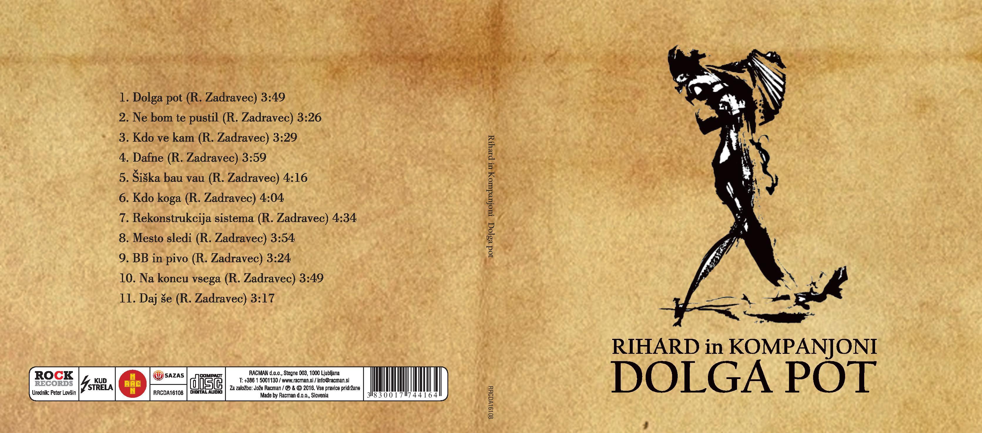 Rihard harmonikar - instrumentalist - avtor album dolga pot