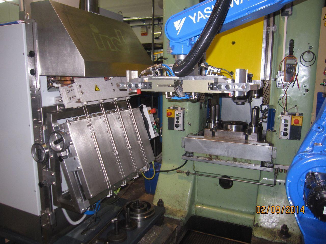 Indukcijsko taljenje kovin, induktivno površinsko kaljenje kovin inel 007