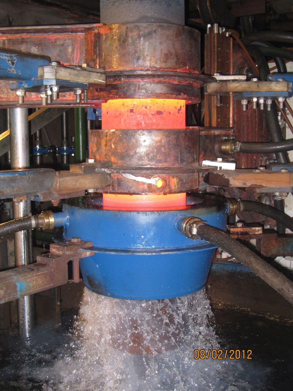 Indukcijsko taljenje kovin, induktivno površinsko kaljenje kovin inel 009