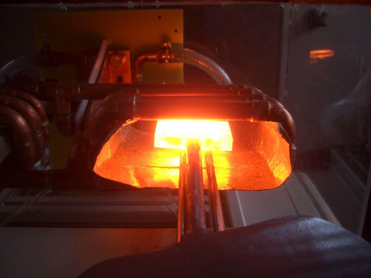 Indukcijsko taljenje kovin, induktivno površinsko kaljenje kovin inel 016