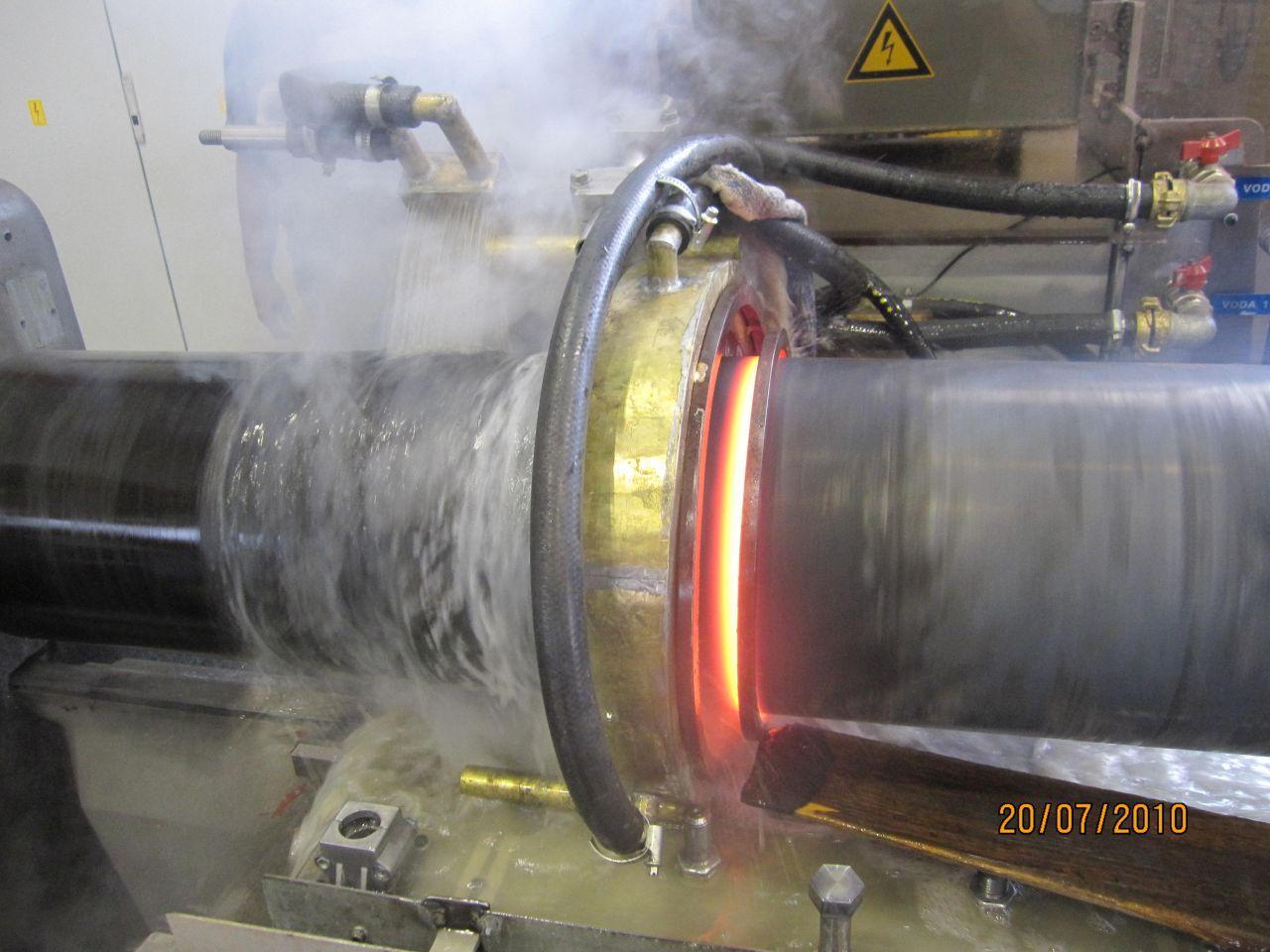 Indukcijsko taljenje kovin, induktivno površinsko kaljenje kovin inel 010