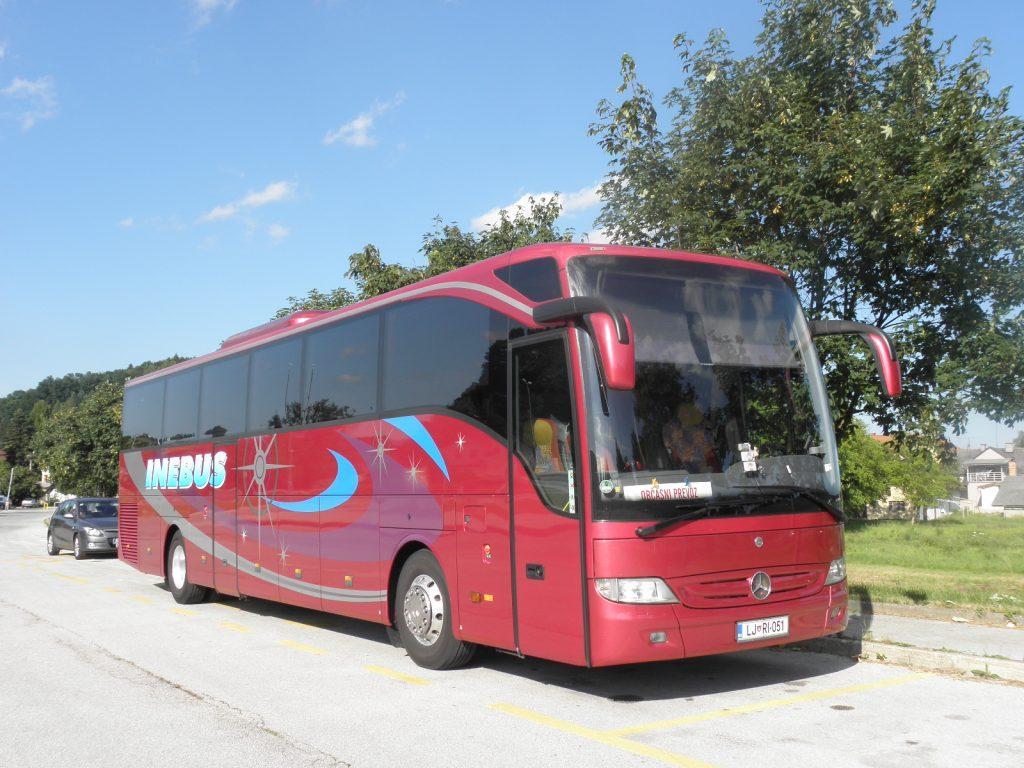 Avtobusni prevozi, Ljubljana - INEBUS 100