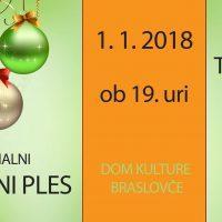 Ponedeljek, 1. 1., ob 19. uri: Tradicionalni NOVOLETNI PLES, Dom kulture Braslovče - 1563607789