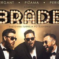 Četrtek, 21. 12., ob 20. uri: praznična komedija BRADE, Dom kulture Braslovče - 1563607789