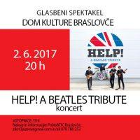 The Beatles spektakel s skupino HELP! A Beatles tribute band 2. 6. 2017 - 1506415065