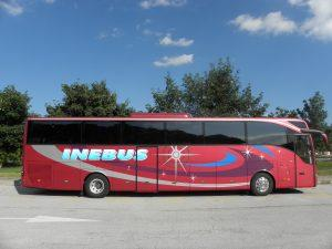 Avtobusni prevozi, Ljubljana - INEBUS 107