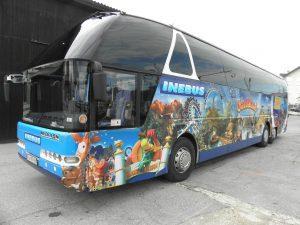 Avtobusni prevozi, Ljubljana - INEBUS 102