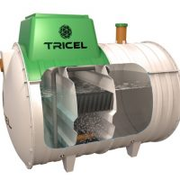 Mala čistilna naprava, mala biološka čistilna naprava, vgradnja čistilne naprave tricel 001