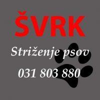 Pasji salon, striženje psov, Jesenice švrk logo