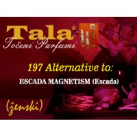 197 Alternative to: Escada Magnetism (ženski) - 1547248596