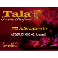 222 Alternative to: Acqua di Gio (moški) - 1547248596