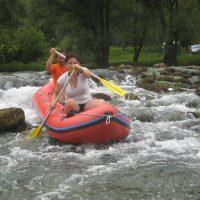 Kolpa H2O izziv, čolnarjenje po kolpi, mini raft, večdenvno čolnarjenje, robinzonsko čolnarjenje, ekspedicijsko čolnarjenje, Kostel, Kolpa 004