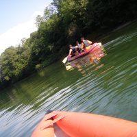 Kolpa H2O izziv, čolnarjenje po kolpi, mini raft, večdenvno čolnarjenje, robinzonsko čolnarjenje, ekspedicijsko čolnarjenje, Kostel, Kolpa mini raft