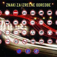 Prometni znaki za izrecne odredbe - 1532112536