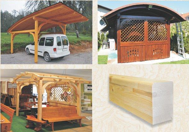 MLINAR d.o.o., balkonske ograje, vrtne garniture, pergole, brunarice, nadstreški za avte iz lesa, sedežne garniture, klopi, predelava lesa, lesene ograje, Bitnje 114