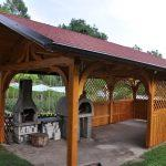 MLINAR d.o.o., balkonske ograje, vrtne ute, pergole in brunarice, nadstreški za avte iz lesa, sedežne garniture in klopi, predelava lesa, lesene ograje90