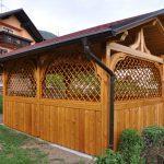 MLINAR d.o.o., balkonske ograje, vrtne ute, pergole in brunarice, nadstreški za avte iz lesa, sedežne garniture in klopi, predelava lesa, lesene ograje91