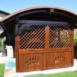 MLINAR d.o.o., balkonske ograje, vrtne ute, pergole in brunarice, nadstreški za avte iz lesa, sedežne garniture in klopi, predelava lesa, lesene ograje92