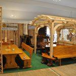 MLINAR d.o.o., balkonske ograje, vrtne ute, pergole in brunarice, nadstreški za avte iz lesa, sedežne garniture in klopi, predelava lesa, lesene ograje94