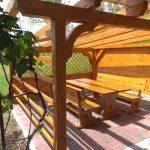 MLINAR d.o.o., balkonske ograje, vrtne ute, pergole in brunarice, nadstreški za avte iz lesa, sedežne garniture in klopi, predelava lesa, lesene ograje101