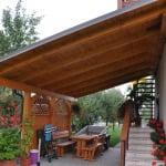 MLINAR d.o.o., balkonske ograje, vrtne ute, pergole in brunarice, nadstreški za avte iz lesa, sedežne garniture in klopi, predelava lesa, lesene ograje79