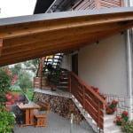 MLINAR d.o.o., balkonske ograje, vrtne ute, pergole in brunarice, nadstreški za avte iz lesa, sedežne garniture in klopi, predelava lesa, lesene ograje80