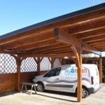 MLINAR d.o.o., balkonske ograje, vrtne ute, pergole in brunarice, nadstreški za avte iz lesa, sedežne garniture in klopi, predelava lesa, lesene ograje120