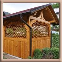 Vrtne kućice, pergole, brvnare - 1568908038