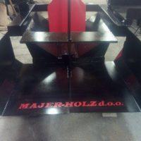 Stroji in oprema za razrez lesa Majer-Holz - Cepilec drv ležeči