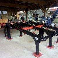 Stroji in oprema za razrez lesa Majer-Holz - Nakladalna rampa hlodovine