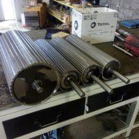 Stroji in oprema za razrez lesa Majer-Holz - Valji po naročilu
