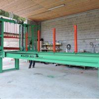 Stroji in oprema za razrez lesa Majer-Holz - celilna zaga