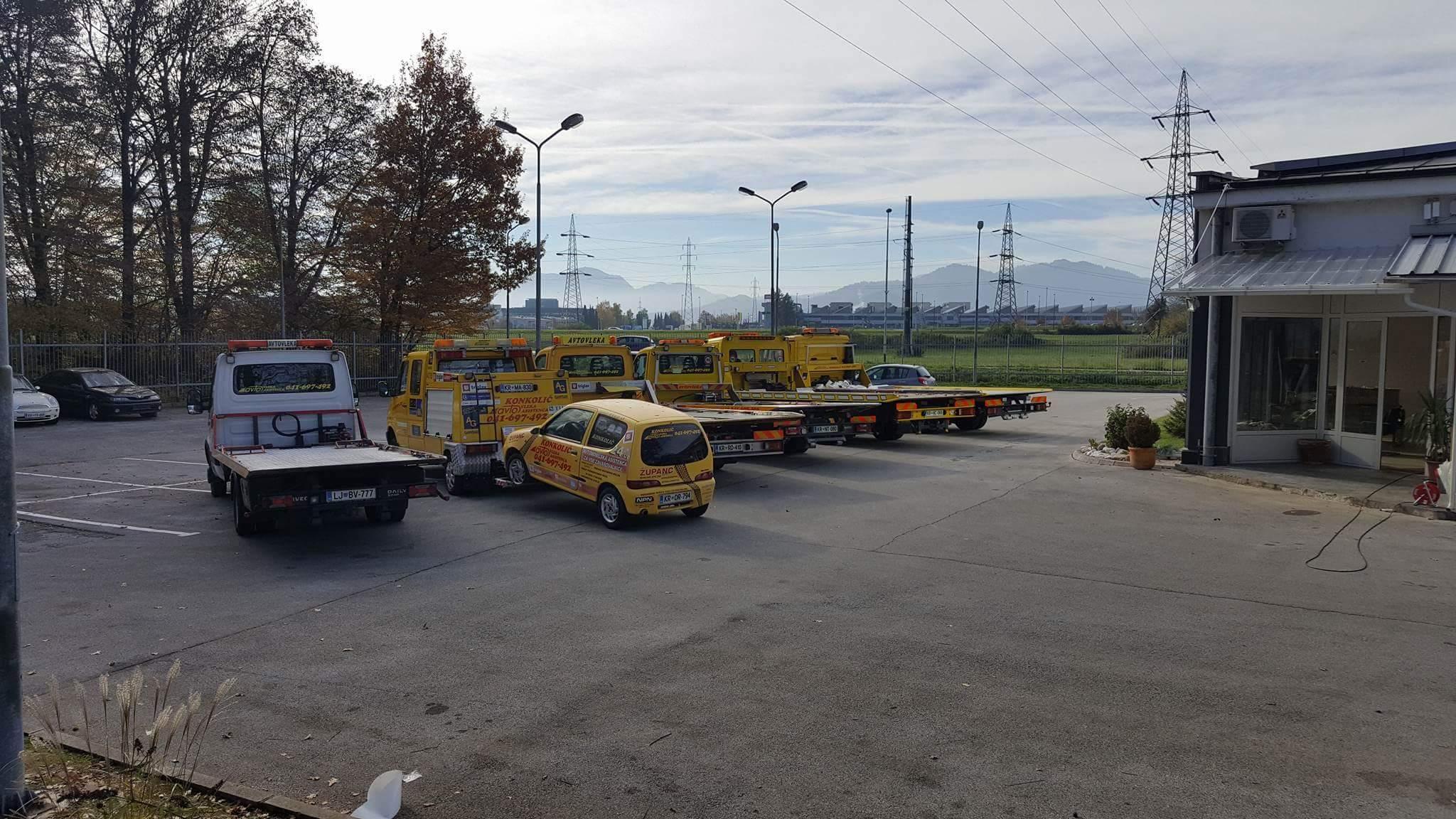 Avtovleka Kranj - Avtoasistenca Konkolič Kranj, Towing Service Kranj, Abschleppdienst Kranj received_10206014330672464