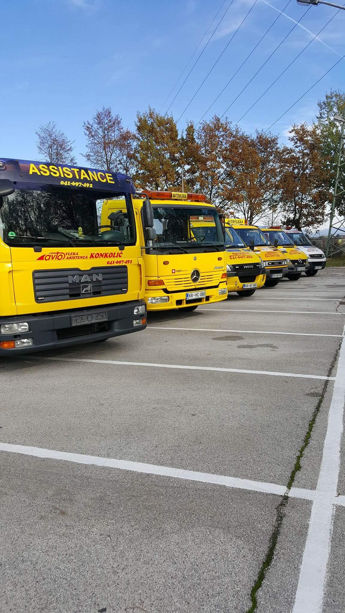 Avtovleka Kranj - Avtoasistenca Konkolič Kranj, Towing Service Kranj, Abschleppdienst Kranj received_10206014331392482