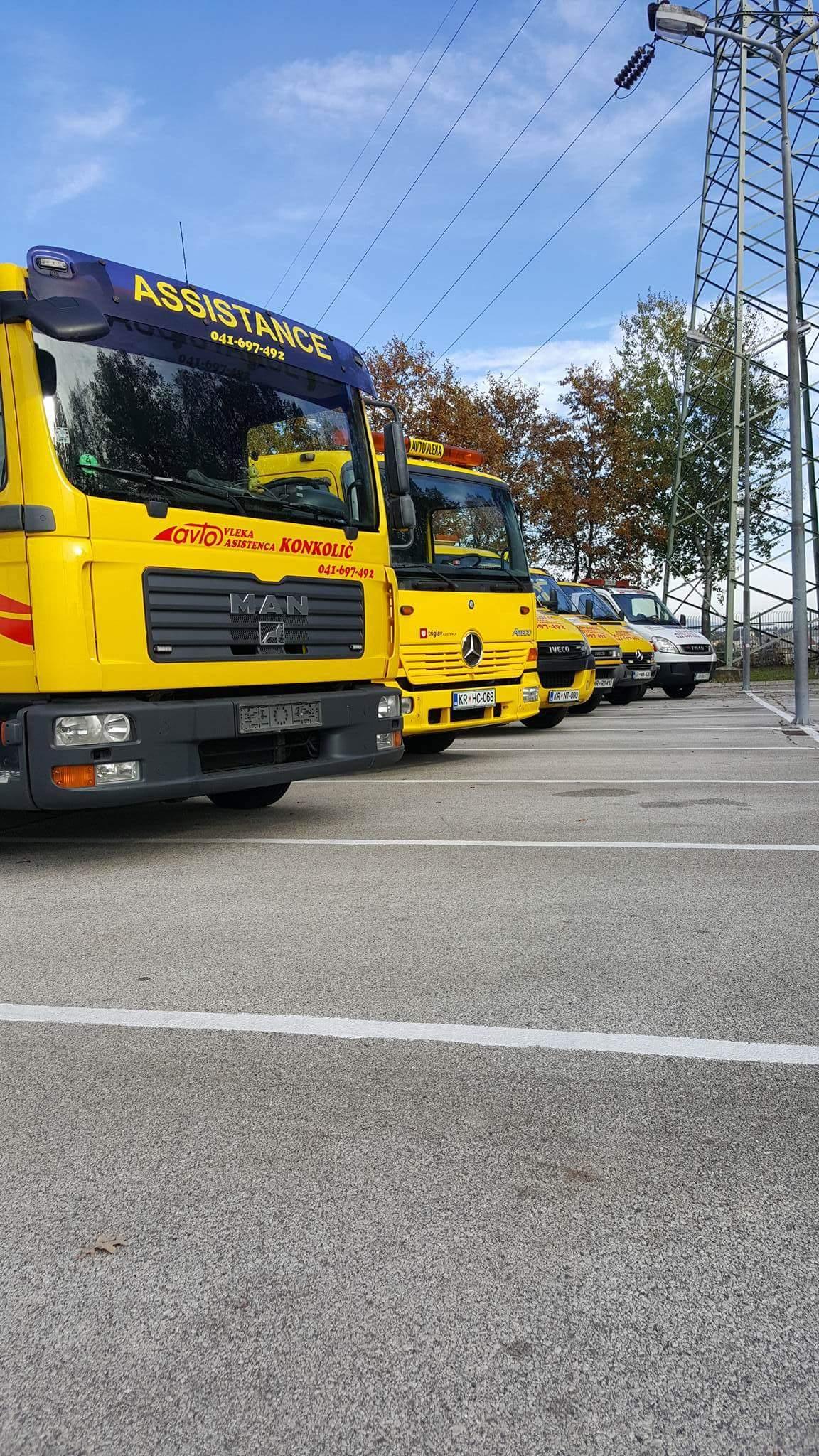 Avtovleka Kranj - Avtoasistenca Konkolič Kranj, Towing Service Kranj, Abschleppdienst Kranj received_10206014331432483