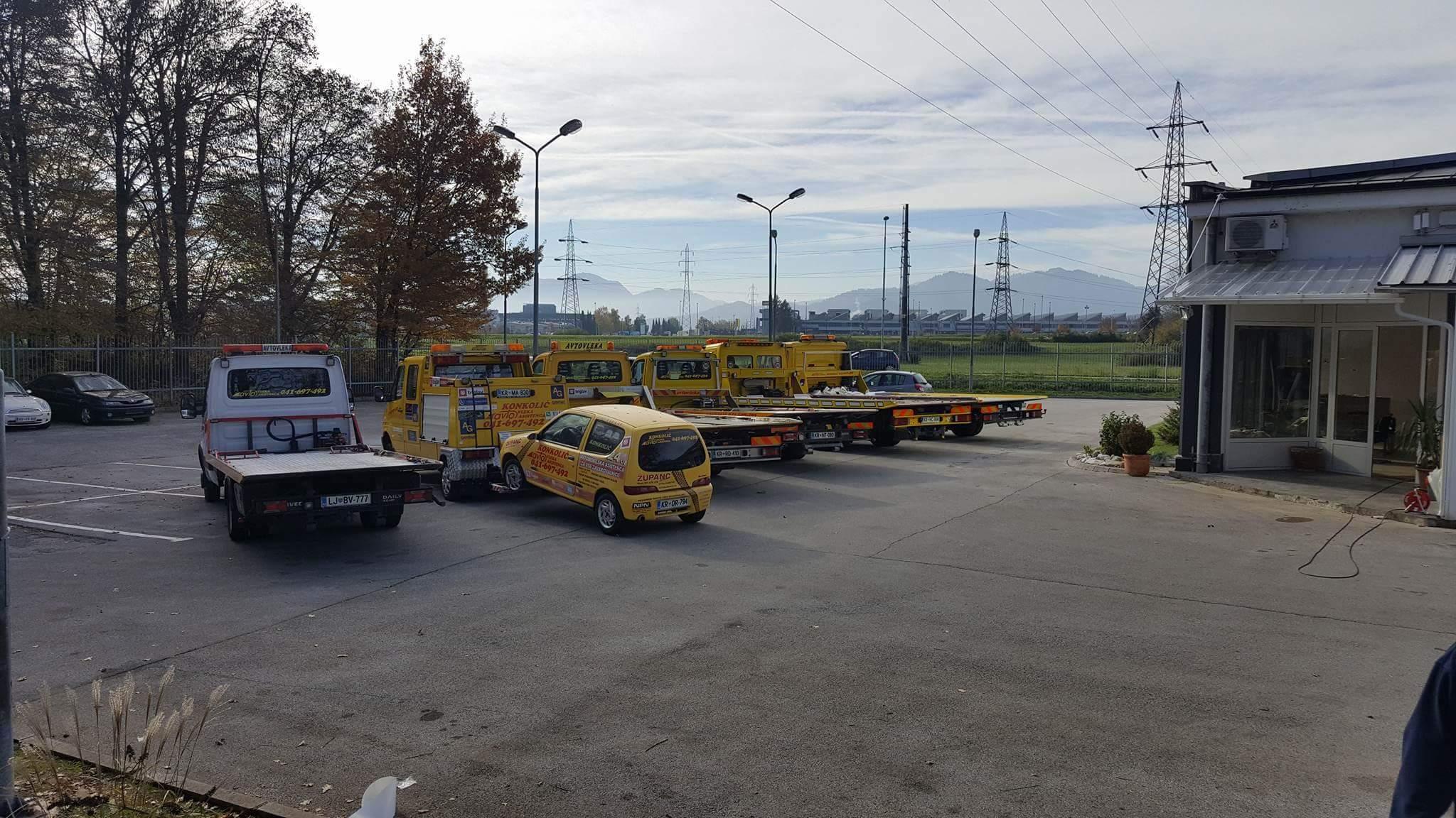 Avtovleka Kranj - Avtoasistenca Konkolič Kranj, Towing Service Kranj, Abschleppdienst Kranj received_10206014331672489