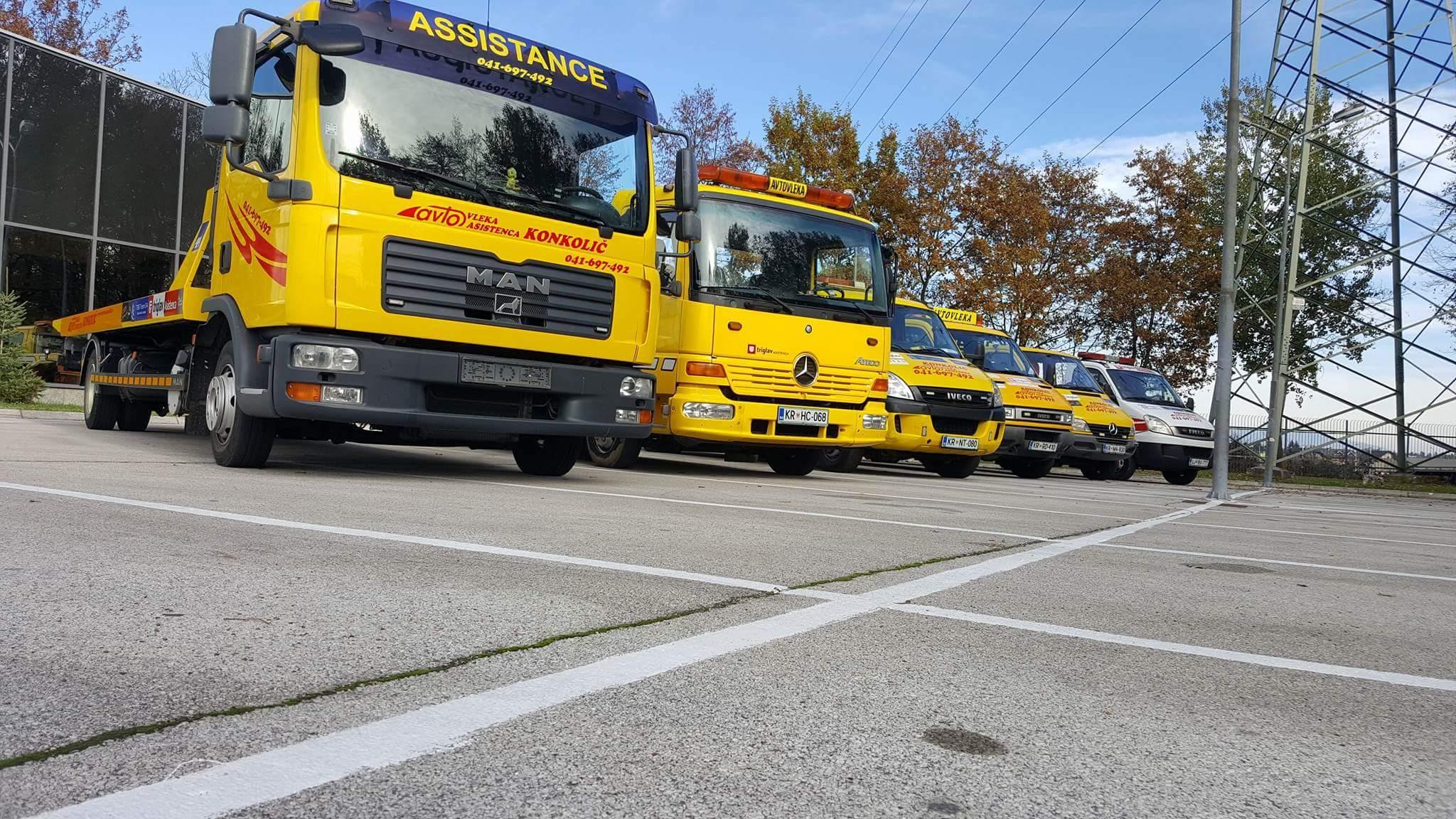 Avtovleka Kranj - Avtoasistenca Konkolič Kranj, Towing Service Kranj, Abschleppdienst Kranj received_10206014331832493