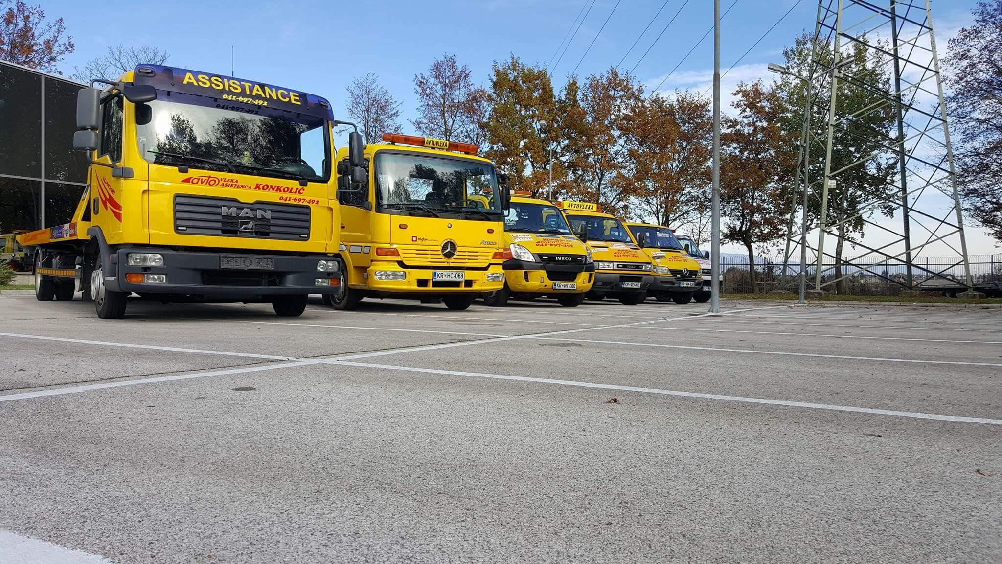 Avtovleka Kranj - Avtoasistenca Konkolič Kranj, Towing Service Kranj, Abschleppdienst Kranj received_10206014332152501
