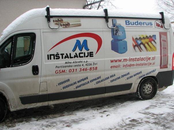 M-INŠTALACIJE, ogrevalne, vodovodne in klima naprave, d.o.o.029