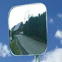 Nestandardno cestno ogledalo - pravokotno - 1542225296