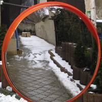 Univerzalno cestno ogledalo - INOX - 1542225297