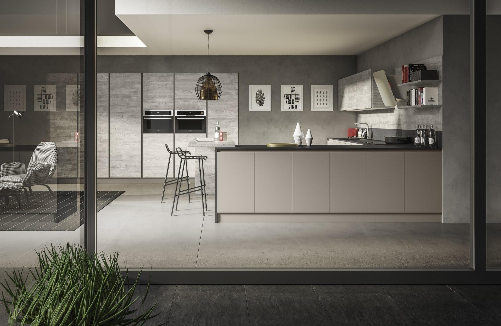 Moderne kuhinje po meri, moderni jedilni stoli, Ljubljana