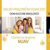 Sreda, 19. 12., ob 20.00: PRAZNIČNI KONCERT MJAV z gosti, koncert, Dom kulture Braslovče - 1544431279
